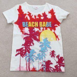 Pink Victoria's Secret Beach Babe T-Shirt